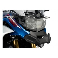 FRONT HEADLIGHT GUARD PUIG FOR BMW F 850 GS ADVENTURE 2019/2020, TRANSPARENT COLOR