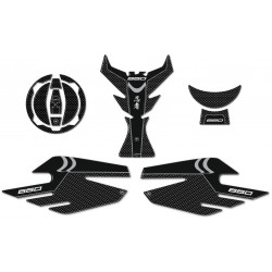 3D STICKERS SIDE PROTECTION, TANK, CAP, KAWASAKI NINJA 650 KEY