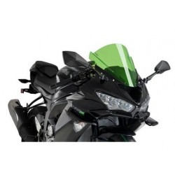 PAIR OF AERODYNAMIC SPOILERS PUIG FOR KAWASAKI ZX-6R 636 2019/2020