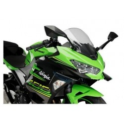 PAIR OF AERODYNAMIC SPOILERS PUIG FOR KAWASAKI NINJA 400 2018/2020