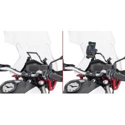 GIVI ALUMINUM TRAVERSE FOR SMARTPHONE FIXING FOR MOTO GUZZI V 85 TT 2019/2020