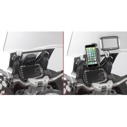 GIVI ALUMINUM TRAVERSE FOR SMARTPHONE FIXING FOR DUCATI MULTISTRADA 950 S 2019/2020