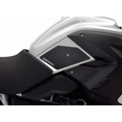 PAIR OF STICKERS ONE DESIGN GRIP TANK FOR BMW R 1200 GS 2004/2012, BLACK