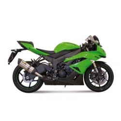 MIVV SOUND STAINLESS STEEL EXHAUST SYSTEM FOR KAWASAKI ZX-6R 2009/2012, APPROVED
