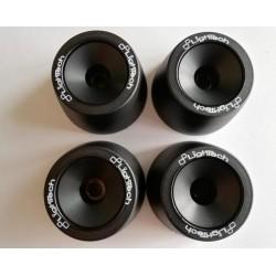 LIGHTECH COMPLETE KIT FOR WHEEL AXLES (FORKS + SWINGARM) FOR HONDA CBR 600 RR 2013*