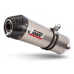 EXHAUST MIVV OVAL TITANIUM CARBON CUP FOR SUZUKI V-STROM 1050 XT 2020, APPROVED