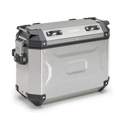 PAIR OF SIDE CASES KAPPA MONOKEY K-MISSION IN ALUMINUM CAPACITY 35 LITERS