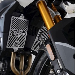 PAIR OF R&G RADIATOR GUARDS FOR TRIUMPH TIGER 900 2020