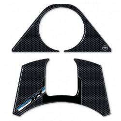 ADESIVI 3D PROTEZIONE BLOCCO CHIAVE E SLOT BMW S 1000 XR 2020/2021 CARBON