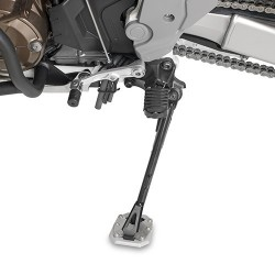 GIVI ALUMINUM BASE WITH INCREASED SURFACE FOR ORIGINAL STAND HONDA AFRICA TWIN 1100 ADVENTURE SPORTS 2020