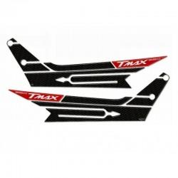 ADESIVI 3D BOOMERANG YAMAHA T-MAX 560 2020/2021 COLORE CARBONIO ROSSO ERGAL