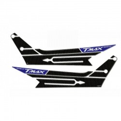 3D BOOMERANG STICKERS YAMAHA T-MAX 560 2020 COLOR CARBON BLUE METAL