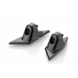 PAIR OF BS822B ADAPTERS FOR RIZOMA MIRRORS FOR DUCATI PANIGALE V2 2020