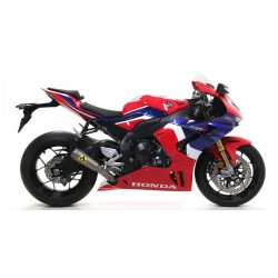 ARROW COMPETITION EVO FULL TITANIUM EXHAUST SYSTEM WITH NET BASE FOR HONDA CBR 1000 RR-R 2020