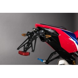 ADJUSTABLE LIGHTECH LICENSE PLATE SUPPORT FOR HONDA CBR 1000 RR-R 2020