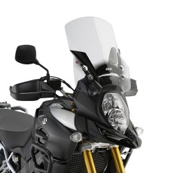 GIVI WINDSCREEN FOR SUZUKI V-STROM 1000 XT 2017/2019, TRANSPARENT