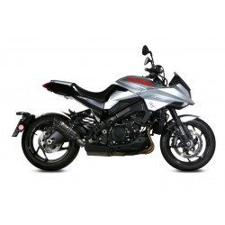 EXHAUST MIVV SOUND BLACK IN STAINLESS STEEL FOR SUZUKI KATANA 1000 2019/2020, APPROVED