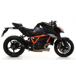 ARROW PRO RACE EXHAUST TERMINAL IN DARK STEEL FOR KTM 1290 SUPER DUKE R 2020, APPROVED