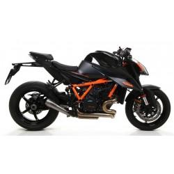 ARROW PRO-RACE TITANIUM EXHAUST SILENCER FOR KTM 1290 SUPER DUKE R 2020, HOMOLOGATED