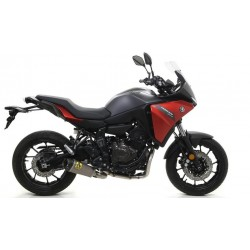 ARROW COMPLETE CATALYTIC EXHAUST SYSTEM IN TITANIUM CARBON BOTTOM FOR YAMAHA TRACER 700 2020