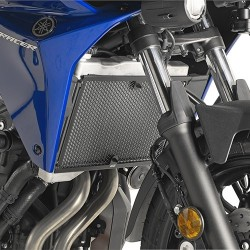 GIVI RADIATOR GUARD IN STAINLESS STEEL FOR YAMAHA TRACER 700 2020, COLOR BLACK