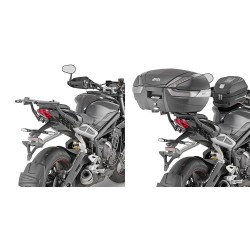 GIVI 6412FZ REAR ATTACHMENT FOR FIXING THE MONOKEY AND MONOLOCK CASE FOR TRIUMPH STREET TRIPLE 765 RS 2020