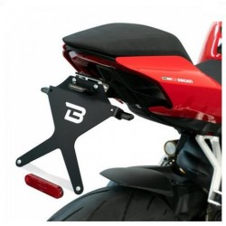 BARRACUDA NUMBER PLATE HOLDER IN ALUMINUM FOR DUCATI PANIGALE V4 2020