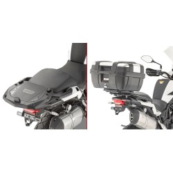 GIVI SR8704 BRACKETS FOR FIXING THE MONOKEY AND MONOLOCK CASE FOR BENELLI TRK 502 X 2020*
