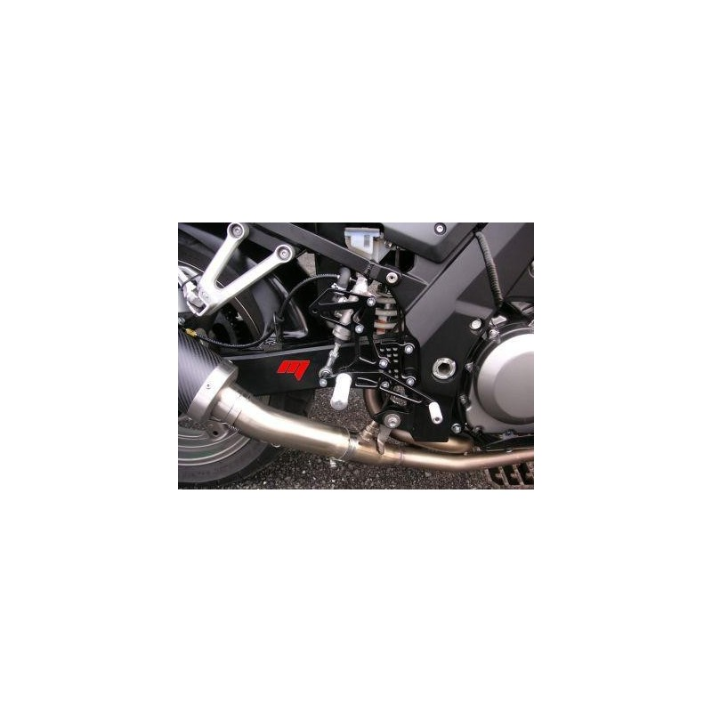 4-RACING ADJUSTABLE REAR SETS FOR SUZUKI SV 650 1999/2009, SV 650 S 1999/2009 (standard and reverse shifting)