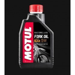 100% SYNTHETIC MOTUL SAE 5 FORK OIL