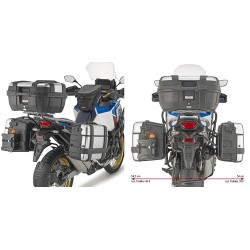 GIVI PL ONE-FIT MONOKEY SIDE CASE HOLDER FOR HONDA AFRICA TWIN 1100 ADVENTURE SPORTS 2020