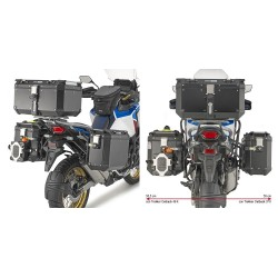 GIVI PL ONE-FIT MONOKEY CAM-SIDE SIDE CASE HOLDER FOR HONDA AFRICA TWIN 1100 ADVENTURE SPORTS 2020