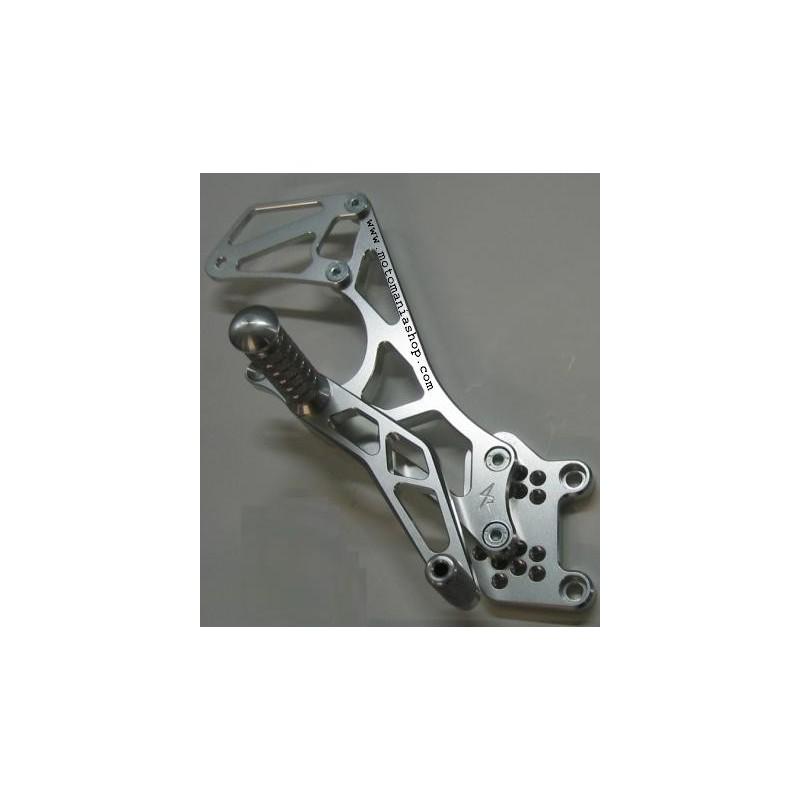 4-RACING ADJUSTABLE REAR SETS FOR HONDA CBR 600 F 1999/2007, 600 F SPORT 2001/2002 (standard and reverse shifting)