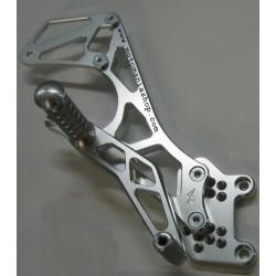 PEDANE ARRETRATE REGOLABILI 4-RACING FOR HONDA CBR 954 RR 2002/2003 (normal and reverse gearbox)