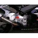 PEDANE ARRETRATE REGOLABILI 4-RACING PER HONDA CBR 954 RR 2002/2003 (cambio normale e rovesciato)