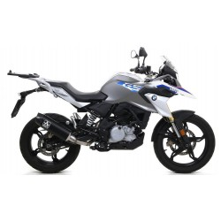 ARROW OMP EXHAUST SYSTEM WITH INDY RACE SILENCER IN DARK ALUMINUM FOR BMW G 310 GS 2017/2020
