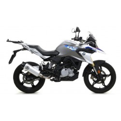 EXHAUST SYSTEM COMPLETE CATALYTIC ARROW TERMINAL INDY RACE ALUMINUM BOTTOM CARBON FOR BMW G 310 GS 2017/2020