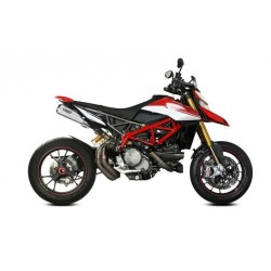 PAIR OF EXHAUST MIVV X-M1 IN TITANIUM FOR DUCATI HYPERMOTARD 950 SP 2019/2021, APPROVED