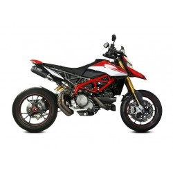 PAIR OF EXHAUST MIVV MK3 IN CARBON FOR DUCATI HYPERMOTARD 950 SP 2019/2021, APPROVED