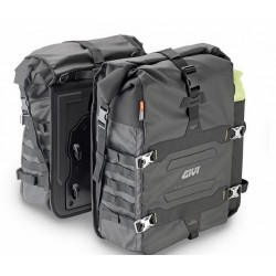 PAIR OF SIDE BAGS GIVI CANYON GRT709 CAPACITY 35 LITERS