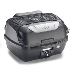 GIVI E43NMAL + MONOLOCK TOP CASE, BLACK WITH UNIVERSAL PLATE AND KIT