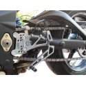 ADJUSTABLE REAR SETS 4-RACING FOR TRIUMPH DAYTONA 675 2006/2015 (standard shifting)