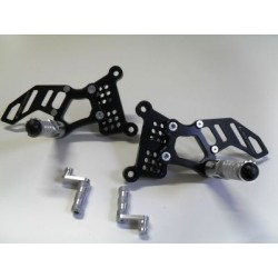 4-RACING ADJUSTABLE REAR SETS FOR MV AGUSTA BRUTALE 910, BRUTALE 910 R, F4 (standard shifting)