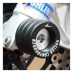 PAIR OF FORK GUARDS 4-RACING FOR KAWASAKI Z 750 2007/2012, Z 1000 2007/2009