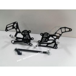 4-RACING ADJUSTABLE REAR SETS FOR APRILIA RSV4 (R/FACTORY/FACTORY APCR) 2009/2012 (normal/reverse shifting)