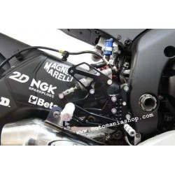ADJUSTABLE REAR SETS WITH EXTERNAL 4-RACING ROD FOR YAMAHA R6 2006/2016 (standard and reverse shifting)