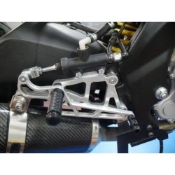 PEDANE ARRETRATE FISSE 4-RACING FOR YAMAHA YZF-R 125 2008/2013 (standard change)