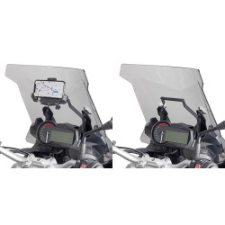 GIVI ALUMINUM CROSSBAR FOR SMARTPHONE FIXING FOR BMW F 850 GS ADVENTURE 2019/2020