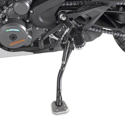 GIVI ALUMINUM BASE WITH INCREASED SURFACE FOR ORIGINAL KTM 390 ADVENTURE 2020