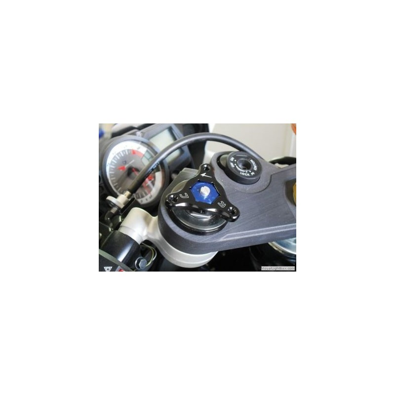 ERGAL FORK PRELOAD ADJUSTING RINGS 22 mm HEX (PAIR)